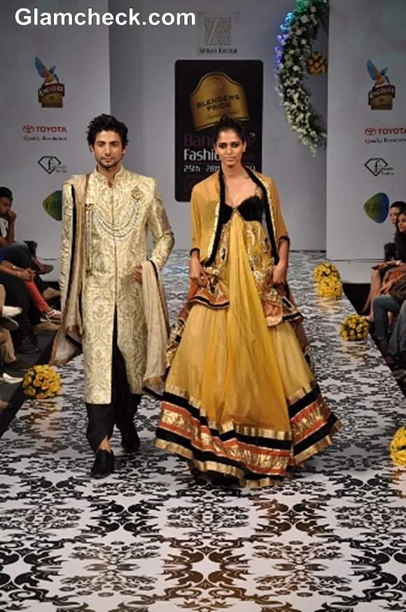 Bangalore Fashion Week Summer Showers 2013 Archana Kochhar show