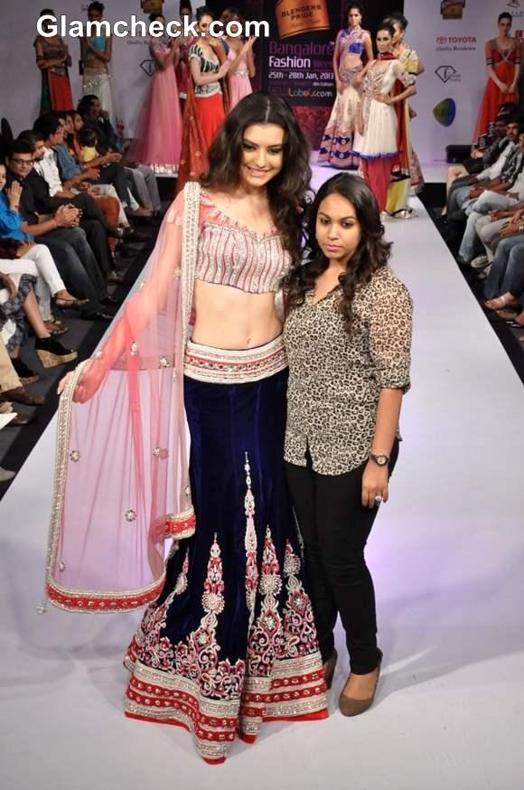 Bangalore Fashion Week Summer Showers 2013 Khushboo Chhadwa designer