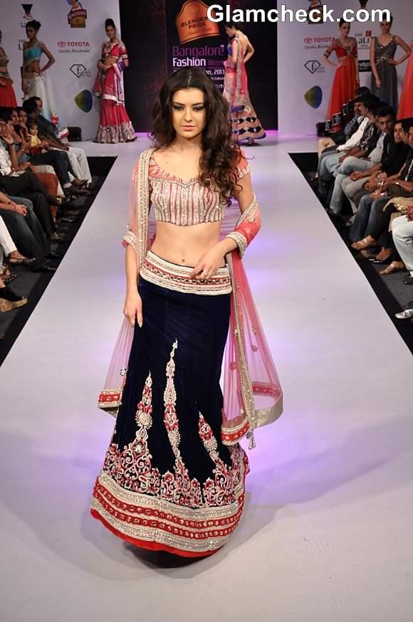 Bangalore Fashion Week Summer Showers 2013 Khushboo Chhadwa show