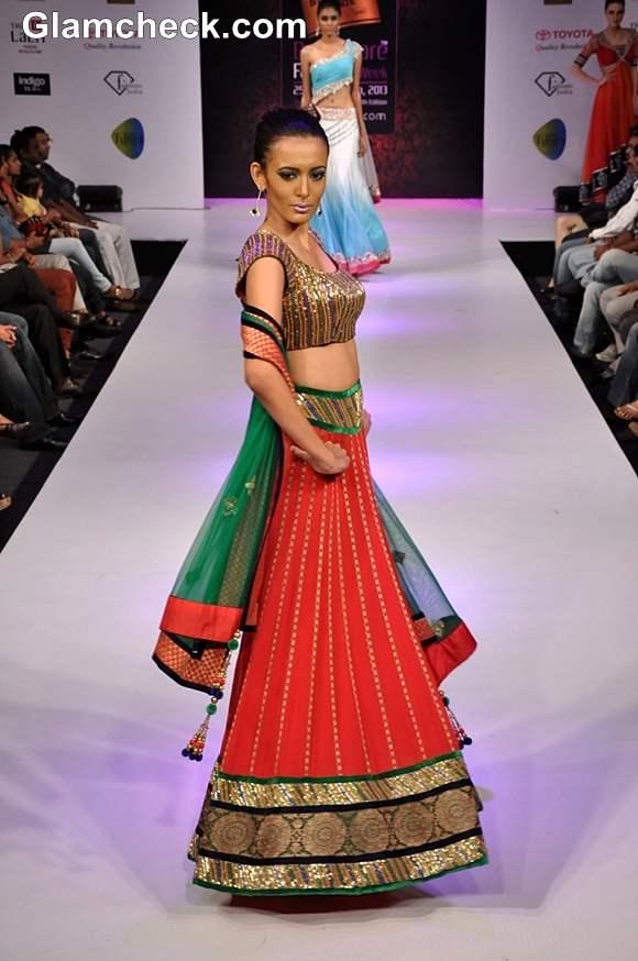Bangalore Fashion Week Summer Showers 2013 Khushboo Chhadwa