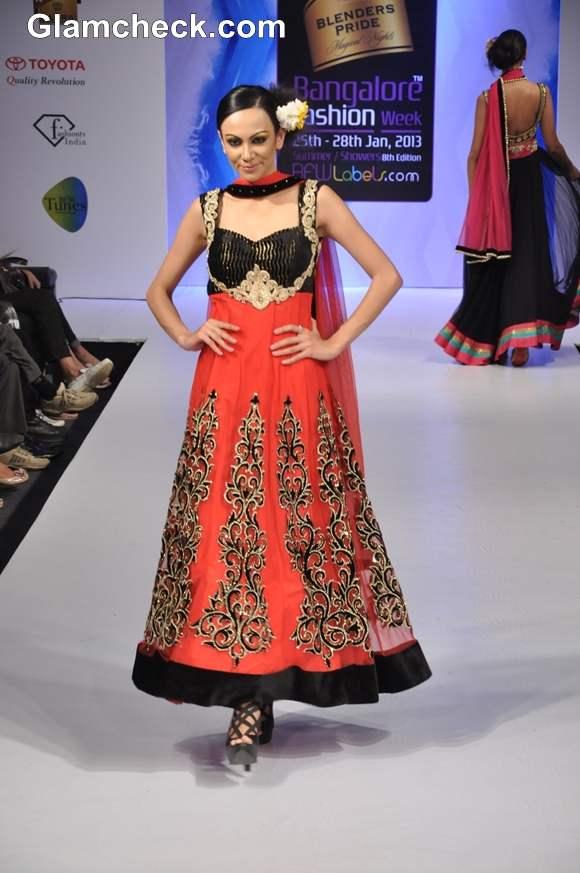 Bangalore Fashion Week Summer Showers 2013 Neha Modi collection