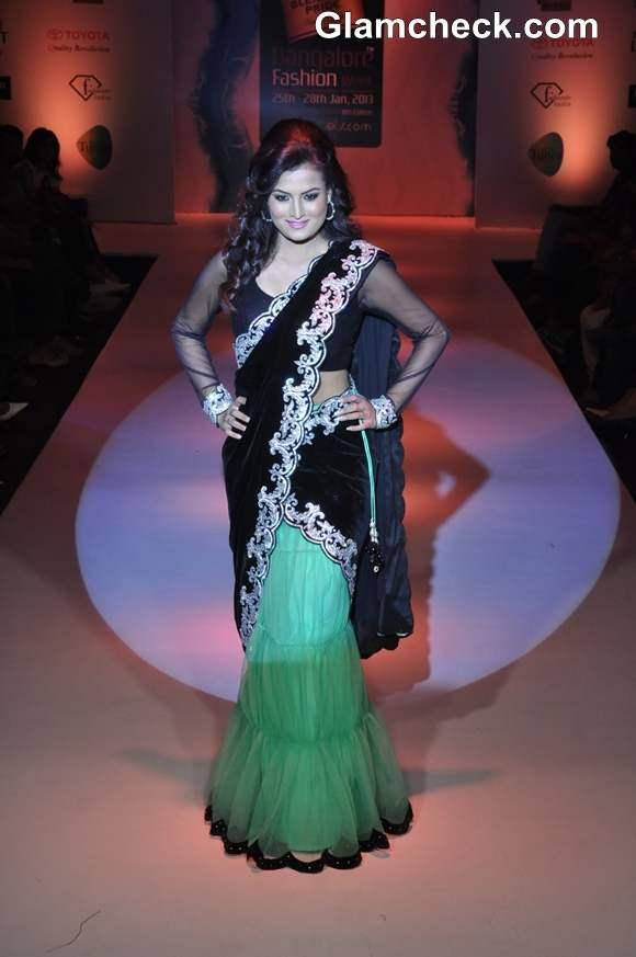 Bangalore Fashion Week Summer Showers 2013 Neha Modi show