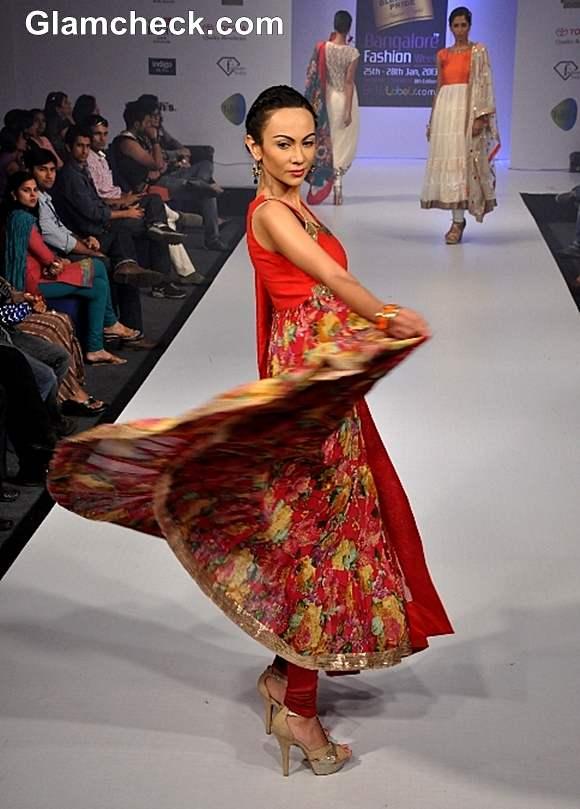 Bangalore Fashion Week Summer Showers 2013 Sandhya Reddy show