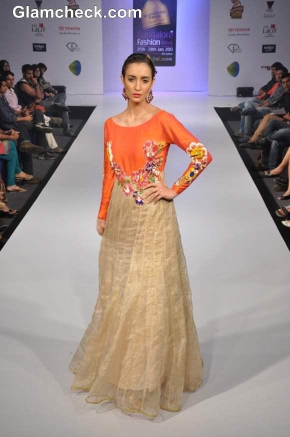 Bangalore Fashion Week Summer Showers 2013 Sandhya Reddy
