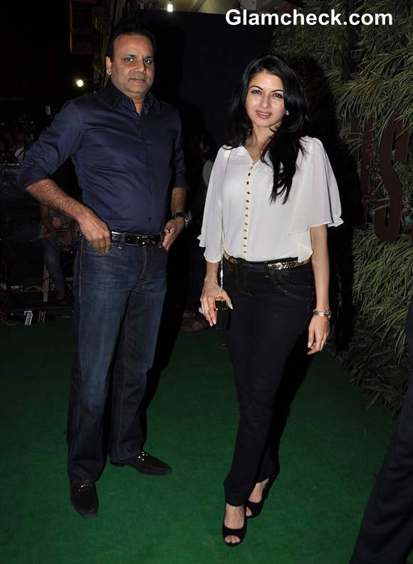 Bhagyashree at  Sunil Shetty R House Store Launch in Worli Mumbai