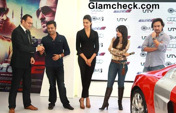 Cast of Race 2 Unveils New AUDI Sports Cars in Delhi