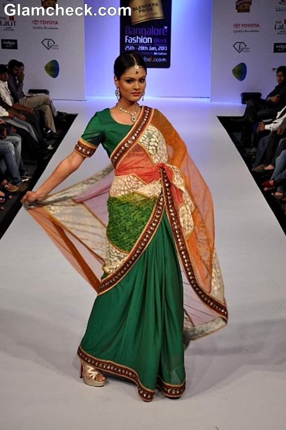 Chaitali Biplab Bangalore Fashion Week Summer Showers 2013