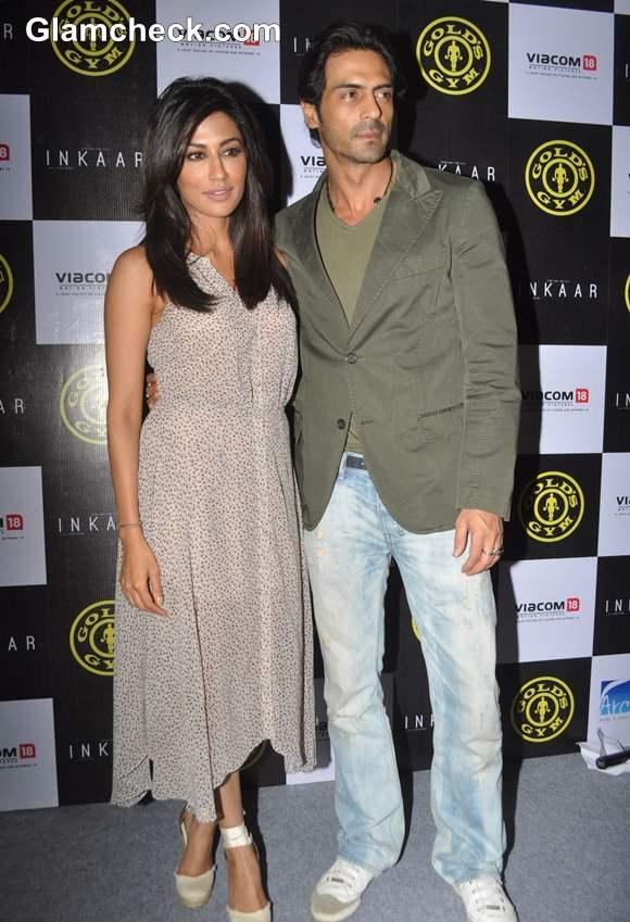 Chitrangada Singh Arjun Rampal Announces Golds Gym Tie-up with Film Inkaar