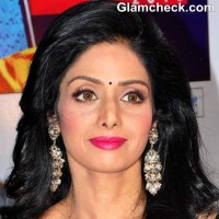 DIY makeup Sridevi pink lips