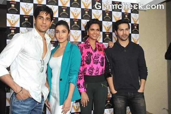 Esha Gupta alia bhatt at Stardust Awards Announcement
