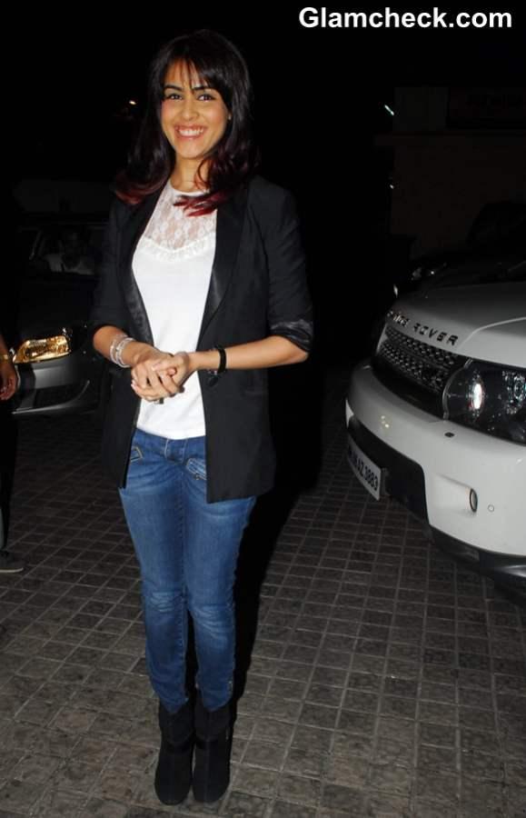 Genelia at Film Screening Balak Palak