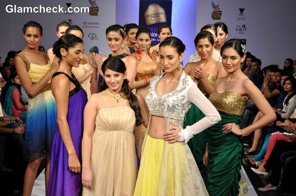 Heena Raj Bangalore Fashion Week Summer Showers 2013