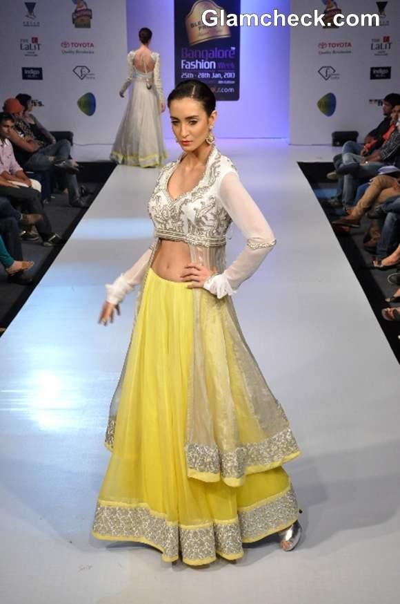 Heena Raj designer Bangalore Fashion Week Summer Showers 2013