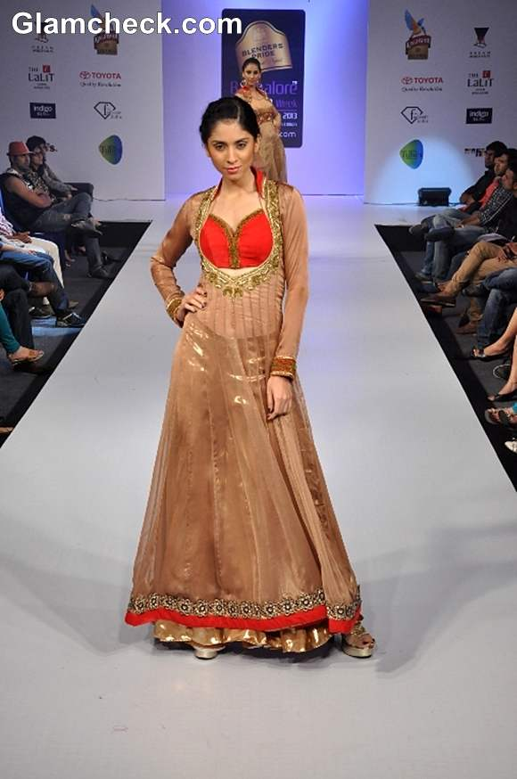 Heena Raj show Bangalore Fashion Week Summer Showers 2013