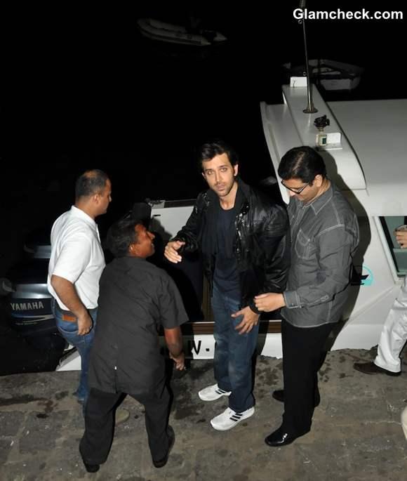 Hrithik Roshan Celebrates His Birthday On A Luxury Yacht