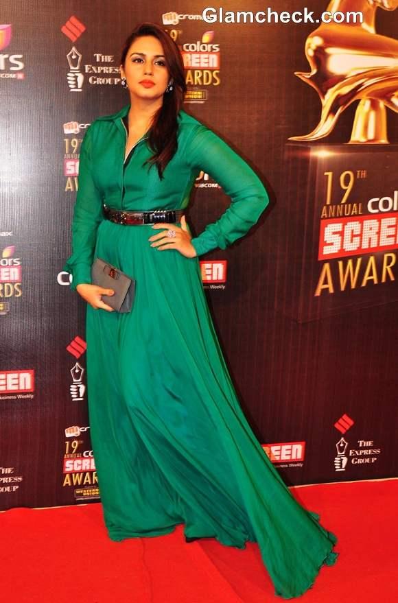 Huma Quereshi 2013 Colors Screen Awards