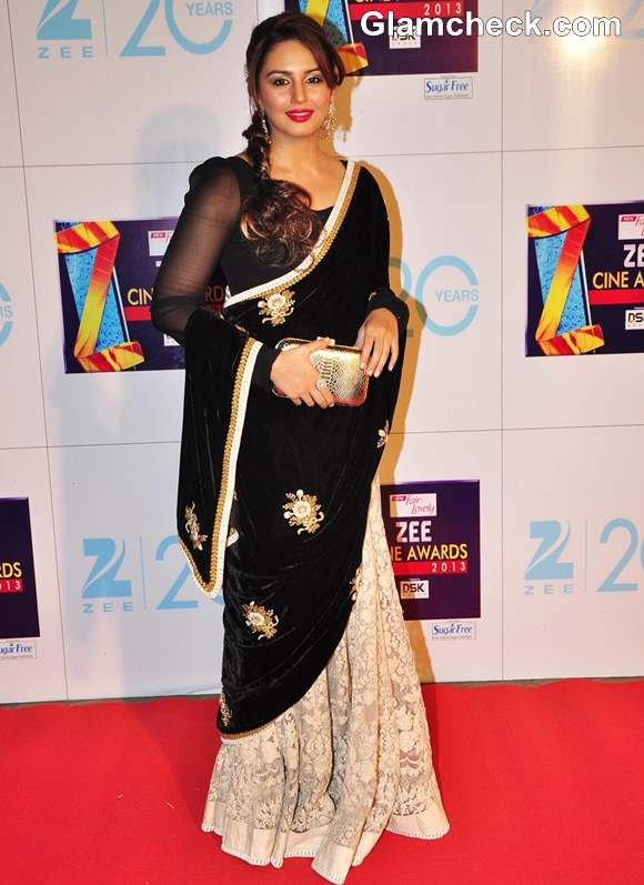 Huma Quereshi In Sabyasachi at Zee Cine Awards 2013