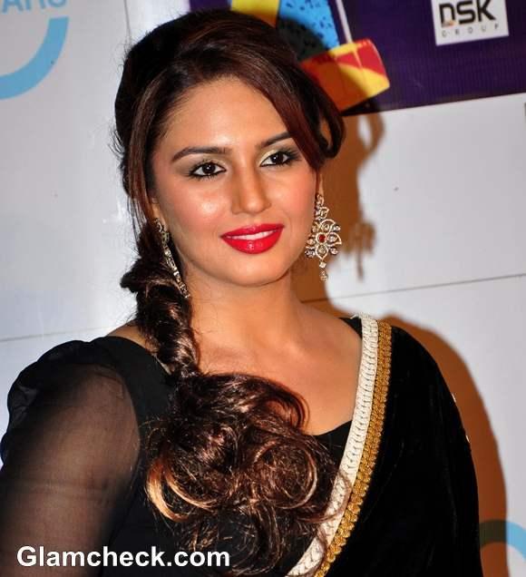 Huma Quereshi hairstyle Zee Cine Awards 2013