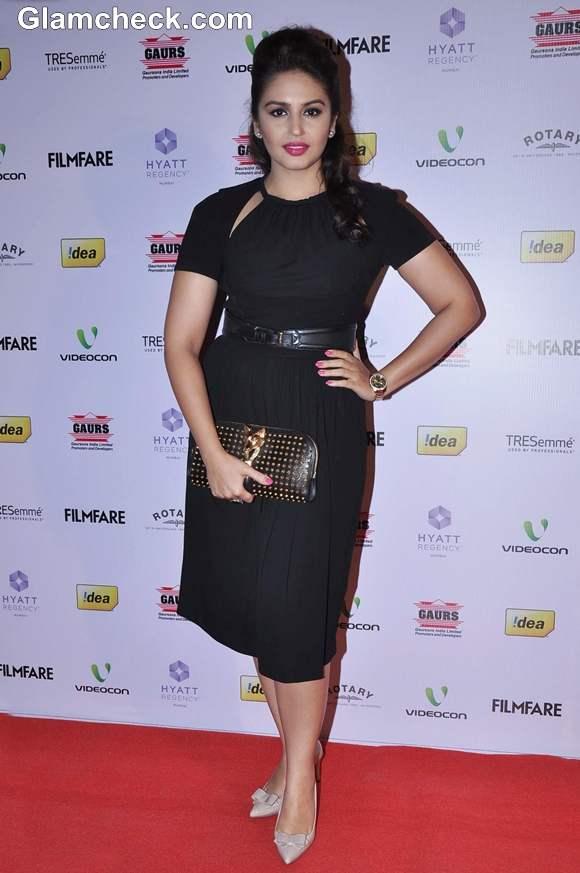 Huma Qureshi 2013 at 58th Idea Filmfare Awards Nominations