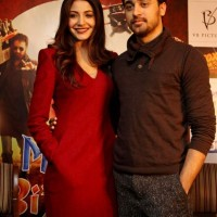 Imran Khan Anushka Sharma Promote Matru Ki Bijlee Ka Mandola In New Delhi