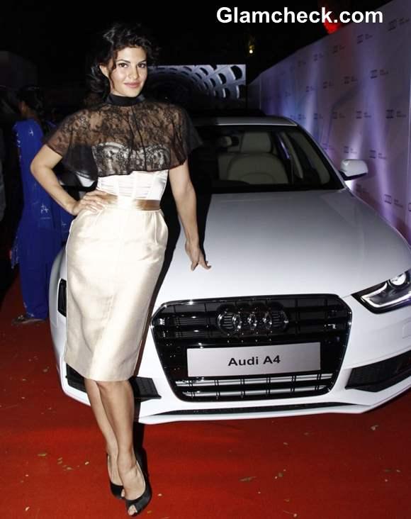 Jacqueline Fernandez New Audi India Showroom Launch 2013