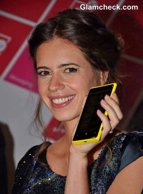 Kalki Koechlin Launches Nokia Nex Gen Lumia Smart Phones