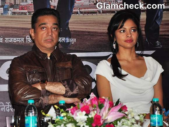 Kamal Hassan Pooja Kumar Promote Vishwaroopam In Mumbai