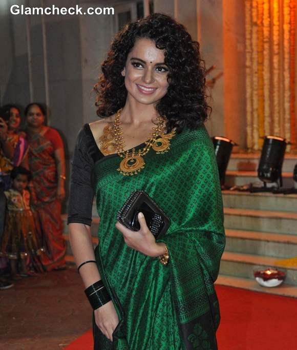 Kangna Ranaut at Udita Goswami wedding