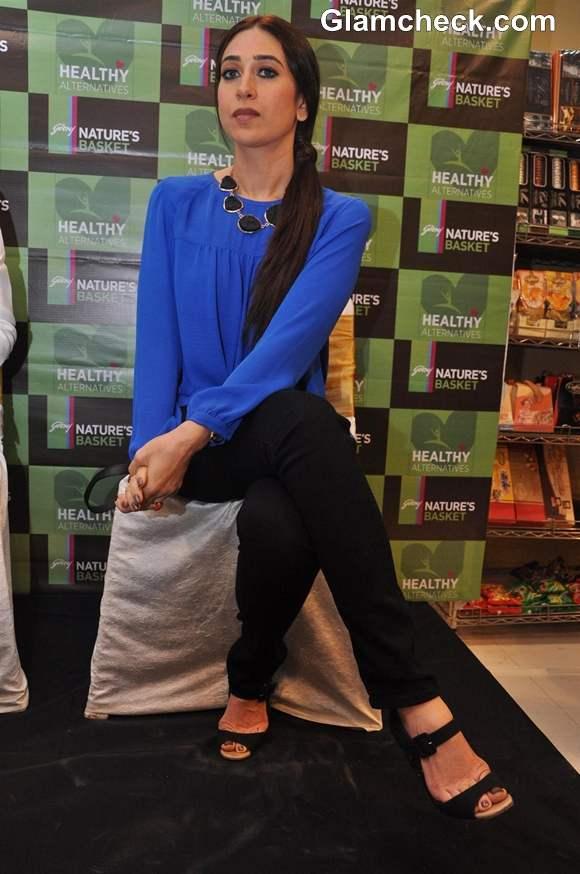 Karisma Kapoor at Healthy Food Launch 2013