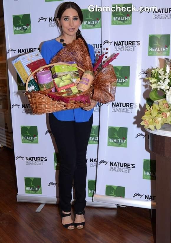 Karisma Kapoor at Healthy Food Launch