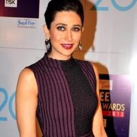 Karisma Kapoor makeup hairstyle Zee Cine Awards 2013