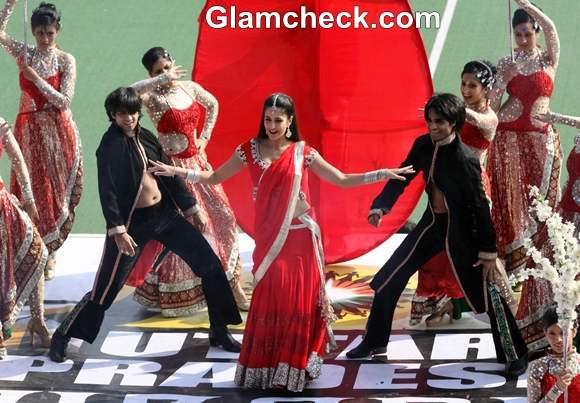 Katrina Kaif at Hockey Match in Lucknow