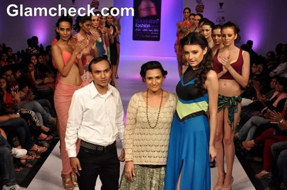 Lalita Amit Gupta Bangalore Fashion Week Summer Showers 2013