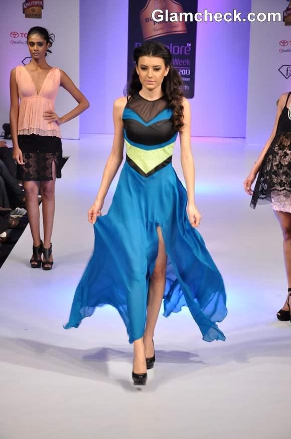 Lalita Amit Gupta collection Bangalore Fashion Week Summer Showers 2013