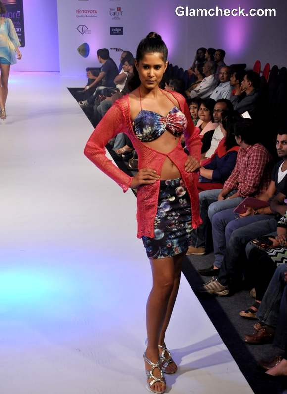 Lalita Amit Gupta show Bangalore Fashion Week Summer Showers 2013