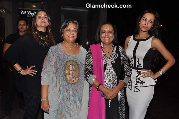 Malaika Arora Khan Amrita Arora at Author Lakshmi Narayan Book Launch