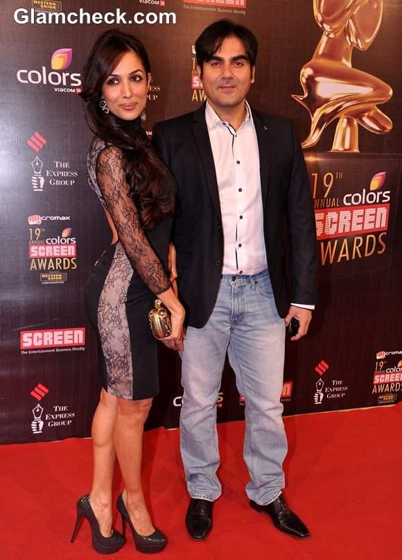 Malaika Arora Khan at the 19th Annual Colors Screen Awards In Mumbai