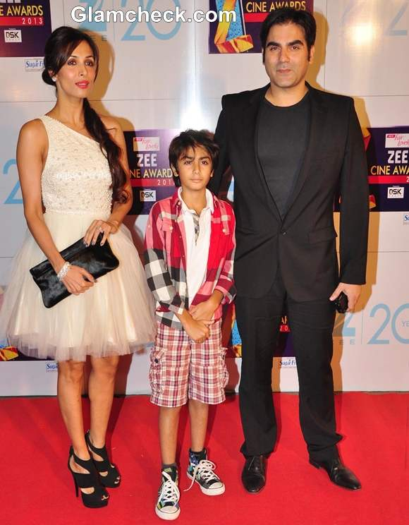 Malaika Arora Khan In Alice and Olivia At The Zee Cine Awards