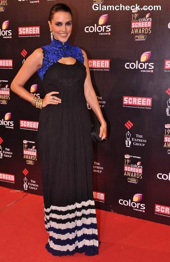 Neha Dhupia at 2013 Annual Colors Screen Awards
