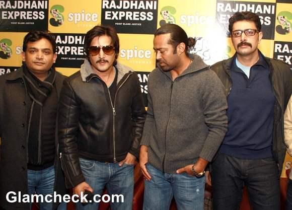 Press Conference Of Rajdhani Express At Spice Mall Noida