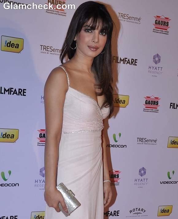 Priyanka Chopra At The 58th Idea Film Fare Award Nominations