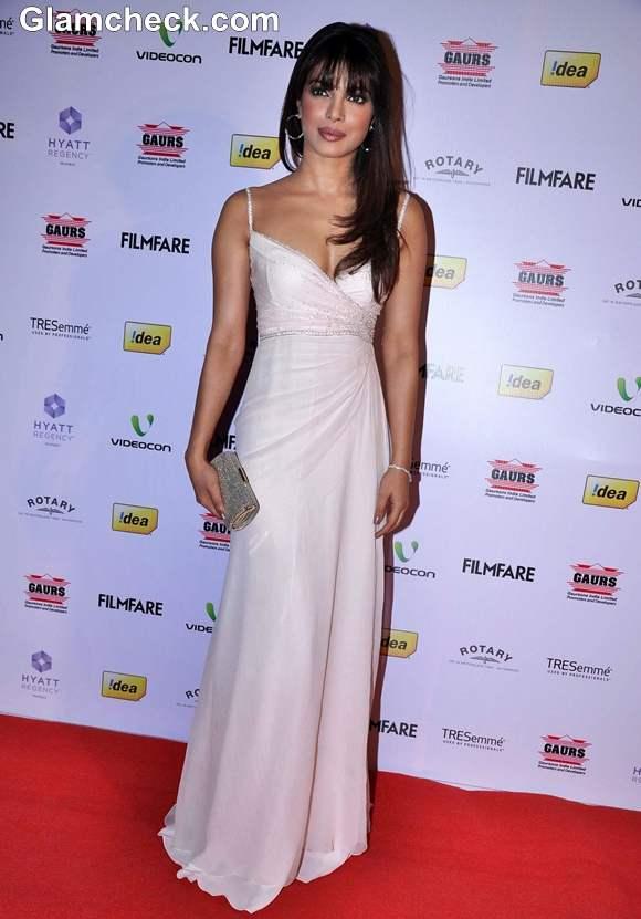 Priyanka Chopra In Dior At The 58th Idea Film Fare Award Nominations