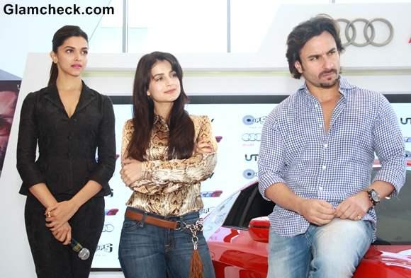 Race 2 stars Unveil New AUDI Sports Cars in Delhi
