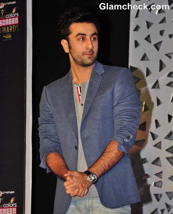 Ranbir Kapoor  19th Annual Colors Screen Awards 2013