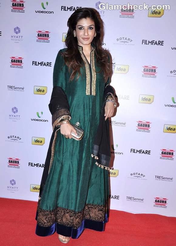 Raveena Tandon at 58th Idea Filmfare Awards Nominations