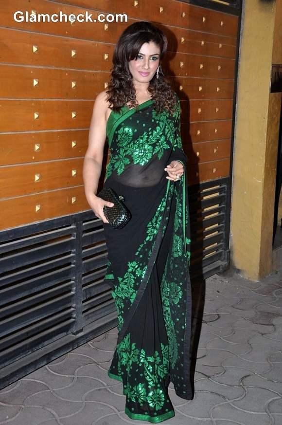 Raveena Tandon filmfare awards 2013