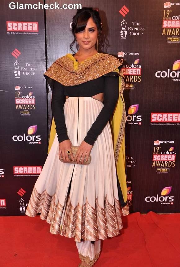 Richa Chaddha 2013 Colors Screen Awards