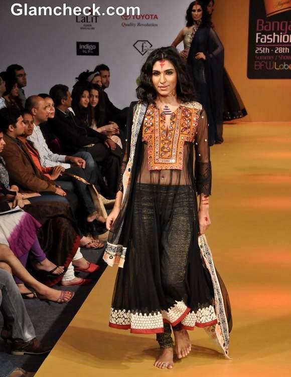 Rina Dhaka Bangalore Fashion Week Summer Showers 2013