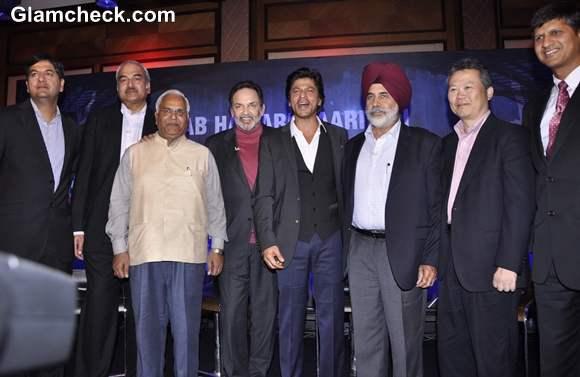Shah Rukh Khan At The Launch Toyota University Cricket Championship