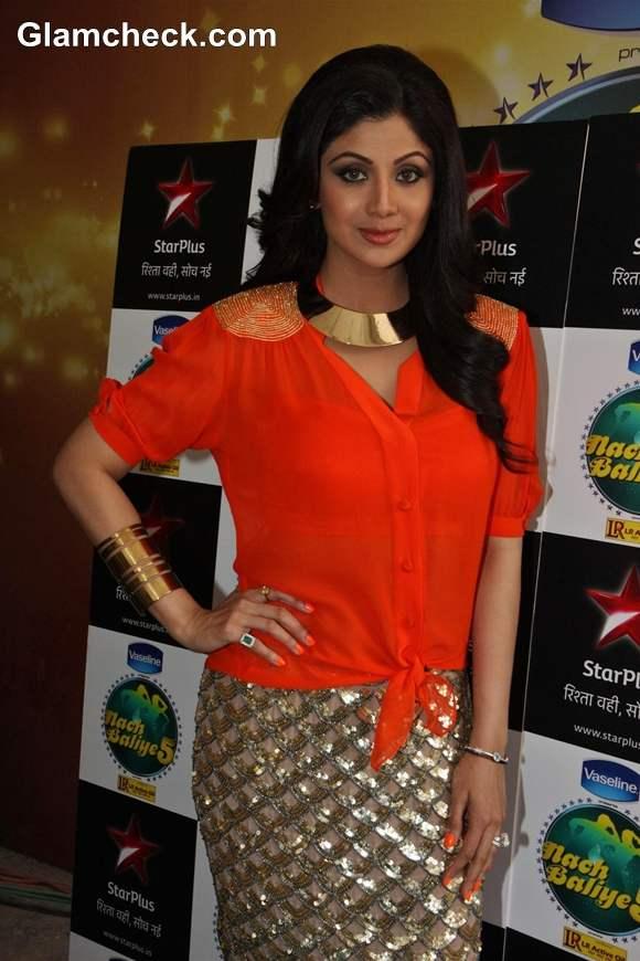 Shilpa Shetty 2013 pictures Nach Baliye 5